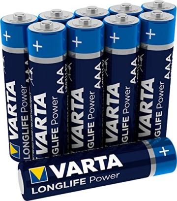 Varta Longlife Power Batterie AAA 10er Pack