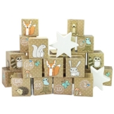 DIY Adventskalender Kisten Set – Waldtiere