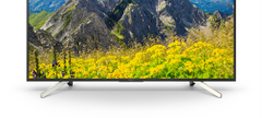 Sony XF7596 4K Ultra HD Fernseher Test keine Kabel Vorderseite