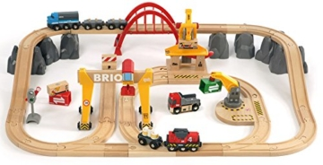 BRIO World 33097 - Frachten Set Deluxe