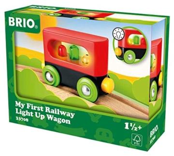 BRIO World 33708 - Mein erster Waggon mit Licht