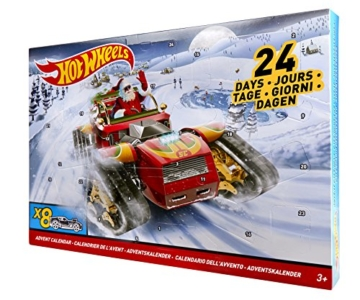 Hot Wheels DXH60 Adventskalender
