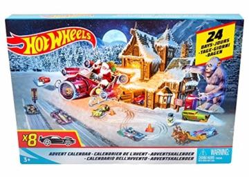 Hot Wheels FKF95 Adventskalender 2018