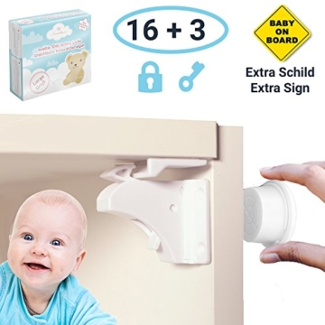 Avantina Baby Magnetschloss 16+3