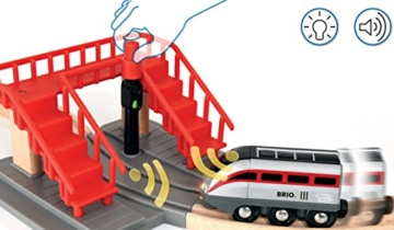 BRIO World 33873 - Großes Smart Tech Reisezug Set