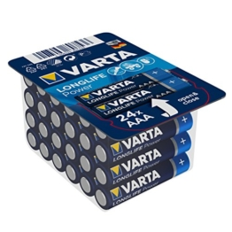 Varta Longlife Power Batterie AAA 24er Pack