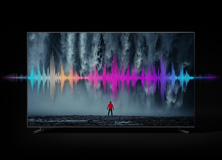 Optimierter Sound des Q900 8K TV