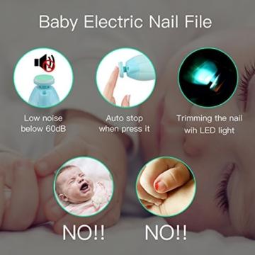 Elektrisches Baby Nagelfeile