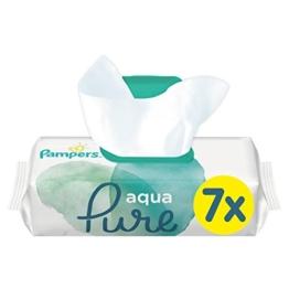 Pampers Aqua Pure Feuchttücher 7x48 Stück