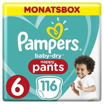 Pampers Baby-Dry Pants, Gr. 6, 15+ kg 116 Stück
