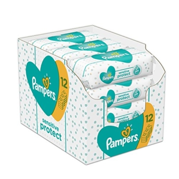 Pampers Sensitive Protect 12x52 Stück