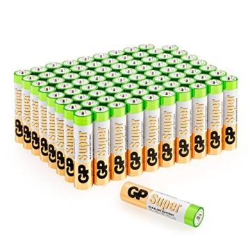 Batterien AAA Micro (LR03) Super Alkaline Vorratspack 80 Stück GP Batteries - 1