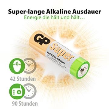 Batterien AAA Micro (LR03) Super Alkaline Vorratspack 80 Stück GP Batteries - 3