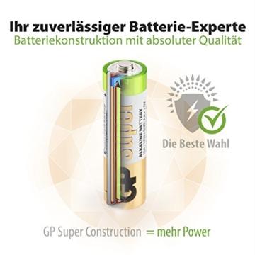 Batterien AAA Micro (LR03) Super Alkaline Vorratspack 80 Stück GP Batteries - 5