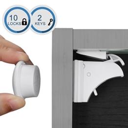Linkax Magnetschloss 10 Schlösser+ 2 Schlüssel