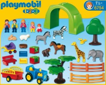 Playmobil 123 Zoo 6754 - Mein großer Tierpark