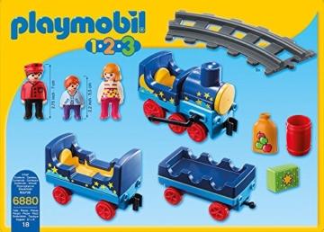 Playmobil 123 Eisenbahn 6880 - Sternchenbahn mit Schienenkreis