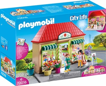 PLAYMOBIL 70016 City Life Mein Blumenladen