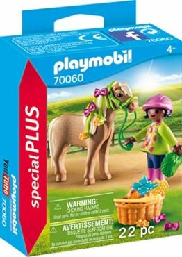 PLAYMOBIL 70060 Special Plus Mädchen mit Pony