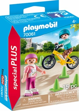 PLAYMOBIL 70061 Special Plus Kinder m. Skates u. BMX