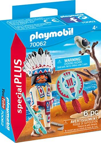 PLAYMOBIL 70062 Special Plus Indianerhäuptling