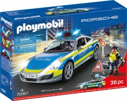 PLAYMOBIL 70067 City Action Porsche 911 Carrera 4S Polizei