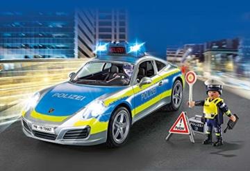 PLAYMOBIL 70067 City Action Porsche 911 Carrera 4S Polizei