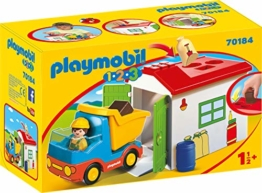 PLAYMOBIL 123 LKW mit Sortiergarage 70184