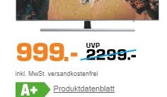 Samsung UE65NU8009TXZG weniger als 1000 Euro
