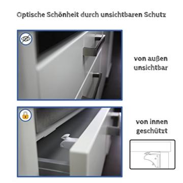 Magnetschloss-Set 8 Schlösser 2 Schlüssel Zwinkerfuchs