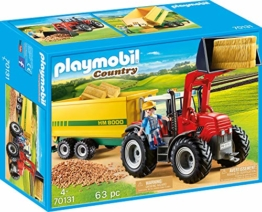 PLAYMOBIL 70131 Country Riesentraktor mit Anhänger