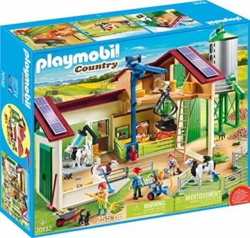 PLAYMOBIL 70132 Country Großer Bauernhof mit Silo