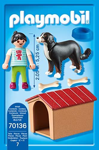 PLAYMOBIL 70136 Country Hofhund mit Hütte