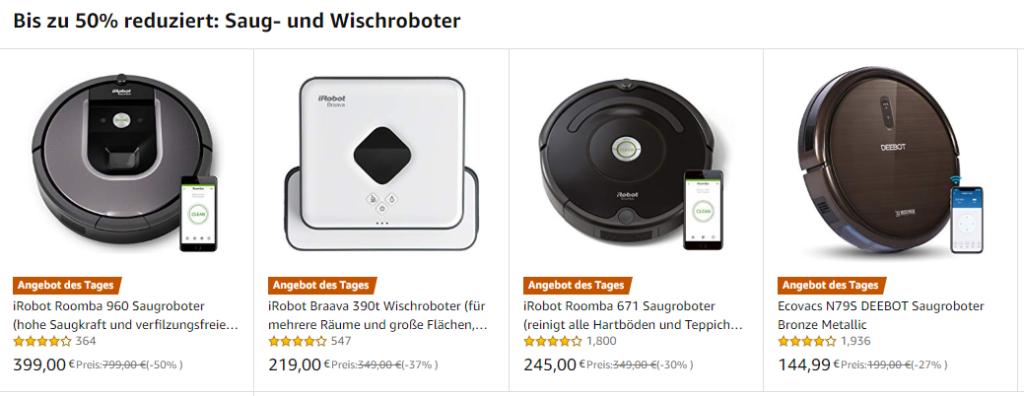 Roomba 960 Saugroboter unter 400 Euro