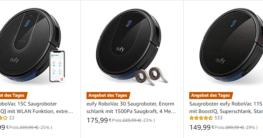 eufy RoboVac Saugroboter 25% günstiger