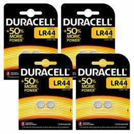 Duracell Speciality LR44 AG13 8 Stück