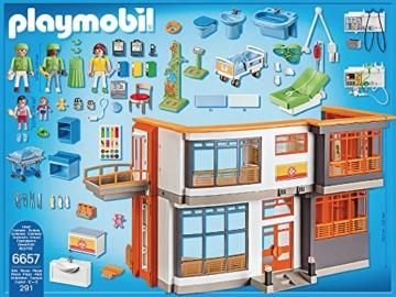 Playmobil 6657 Kinderklinik mit Einrichtung