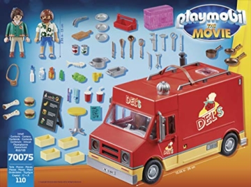 Playmobil 70075 - The Movie Del's Food Truck