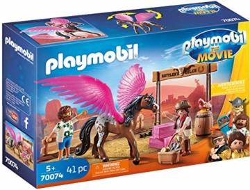 Playmobil 70074 - The Movie Marla, Del und Pferd mit Flügeln