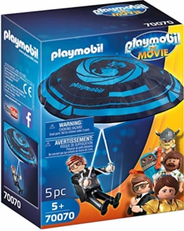 Playmobil 70070 - The Movie Rex Dasher mit Fallschirm