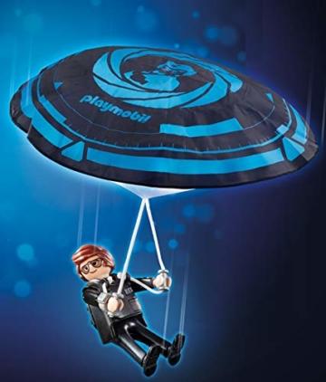 Playmobil 70070 - The Movie Rex Dasher mit Fallschirm
