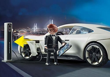 Playmobil 70078 - The Movie Rex Dasher's Porsche Mission E