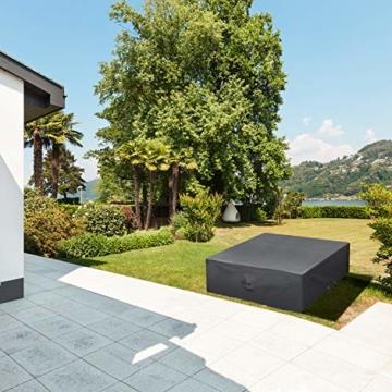 smartpeas Schutzhülle für Gartenmöbel 200x160x80 cm