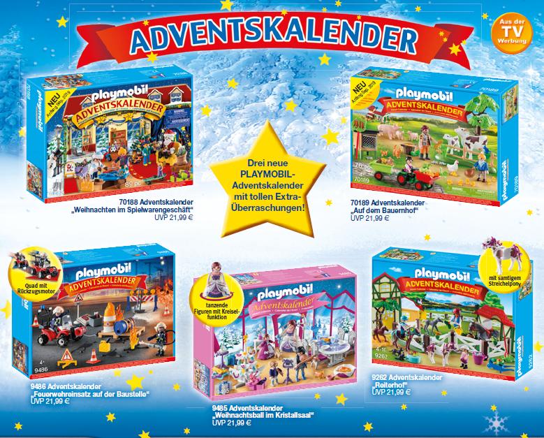 Playmobil Adventskalender 2019