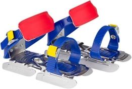 Nijdam Gleitschuhe für Kinder blau/gelb/rot