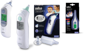 Braun Fieberthermometer im Vergleich