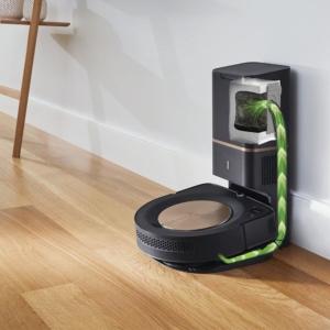 iRobot Roomba s9+ automatische Entleerung an der Dockingstation