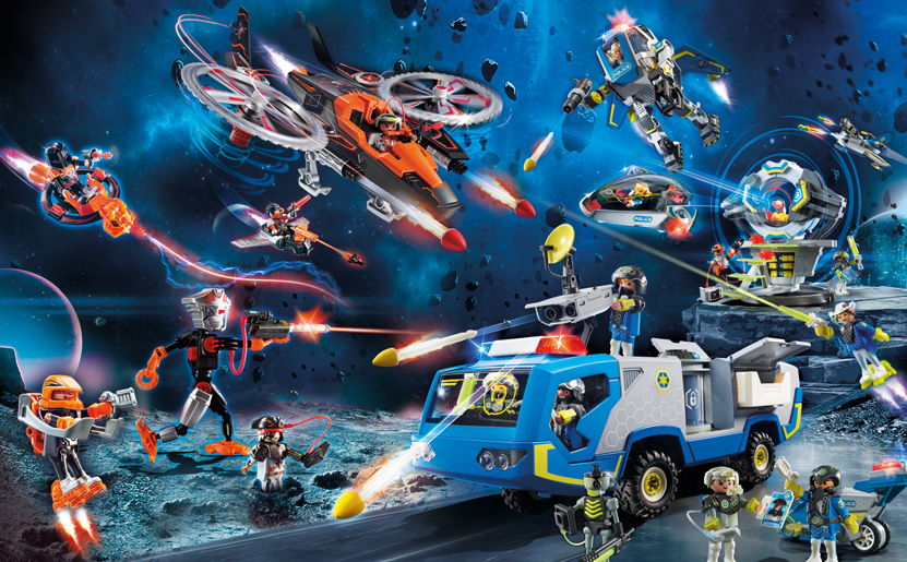 Playmobil Galaxy Police Neuheit ab August 2020