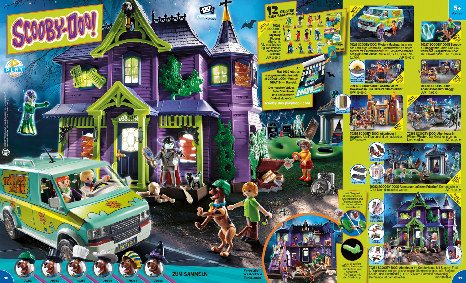 Playmobil Neuheit Scooby-Doo ab Ende August 2020