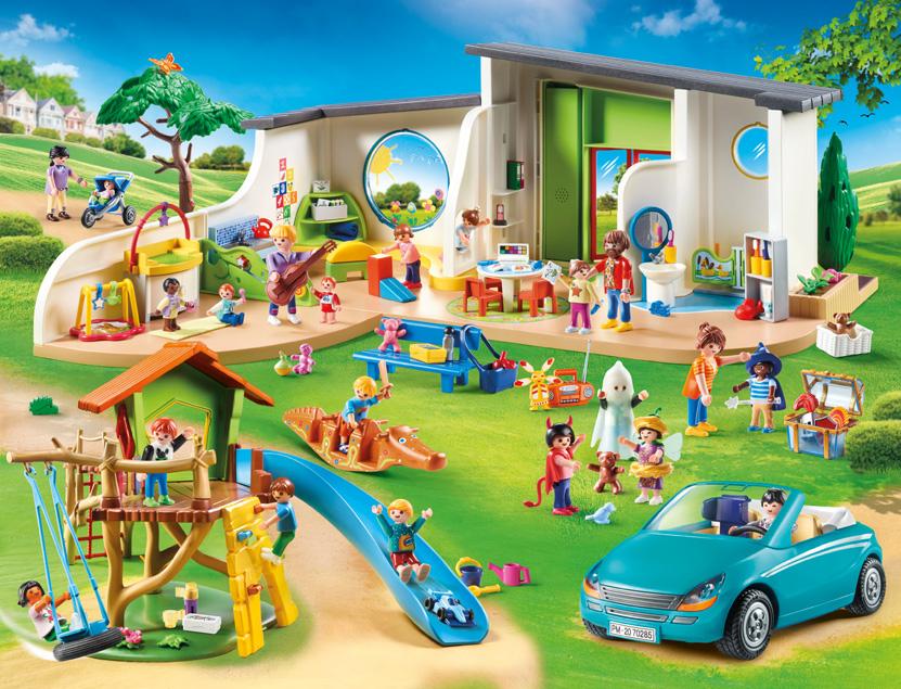 Playmobil KITA Regenbogen 2020